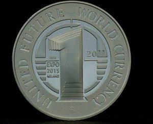 moneta ufficiale Expo 2012
